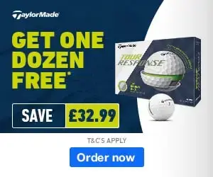TaylorMade Tour Response 4 For 3 - Save £32.99